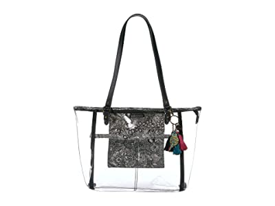 Sakroots Festival Medium Tote (Clear) Tote Handbags