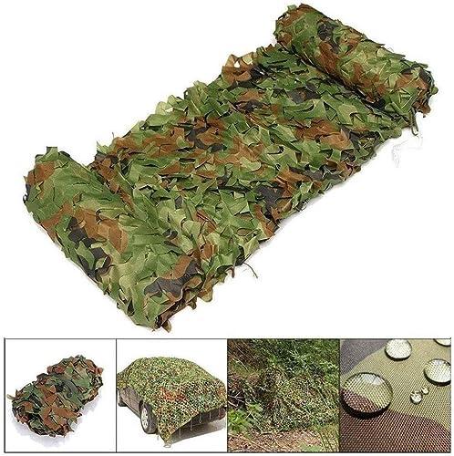 Camouflage Filet Vert, Prougeection Solaire 5x8m Filet De Camouflage Décoration De Jardin Carport Militaire Camouflage Filet Camping Chasse Tir Caché Fête Halloween Piscine écran Solaire 2x3m4x6m