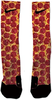 Custom Elite Pizza Athletic Crew Socks