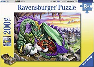 Ravensburger 12655 Queen of Dragons, 200 Piece Puzzle for Kids, Every Piece is Unique, Pieces Fit Together Perfectly