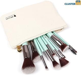 DUcare Makeup Brush Set Kabuki Professional Makeup Brushes, Mint Green