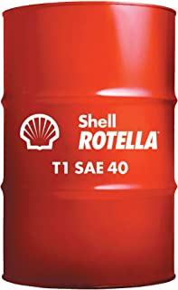 Shell Rotella 550019860 T1 40 heavy Duty Diesel Engine Oil - 55 Gallon Drum