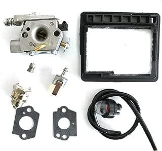 HQParts Carburetor for Walbro WT-402A WT-402 WT402-1 Echo CS-303T CS-3000 12300139136 Air Fuel Filter
