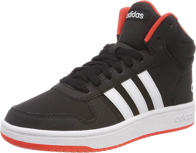 adidas Hoops Mid 2.0 K, Chaussures de Gymnastique