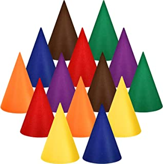 Gnome Hats Dwarf Hats Gnome Cone Colorful Elf Hat for Halloween Accessory Party Supplies (Multicolor, 14 Pieces)