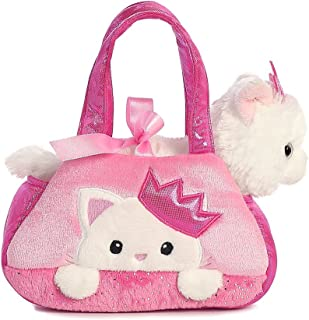 Aurora World Fancy Pals Pet Carrier, Peek-A-Boo Princess Kitty