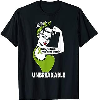 Non-Hodgkin Lymphoma Warrior Unbreakable, Lymphoma Awareness T-Shirt