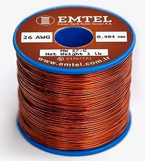 1 lb Magnet Wire Enameled Copper Coil 1 mm 18 AWG Gauge 460 gr ~64 m