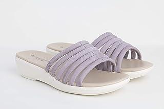 Hush puppies Light Purple Slides Slipper For Women