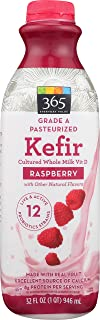 365 Everyday Value Kefir Cultured Whole Milk Vitamin D, Raspberry, 32 fl oz