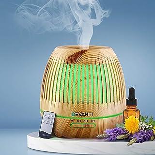 Devanti Aromatherapy Diffuser Aroma Essential Oils Air Humidifier LED Light