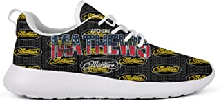 Student Men Canvas Classic Mathews-Archery-Compound-Bow-American-Flag- Running Shoes Fitness Shoe