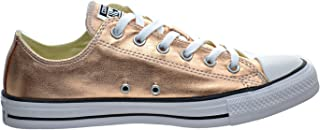 3f32d5711148 Converse Unisex Chuck Taylor All Star Ox Low Top Classic Metallic Sunset  Glow White Sneakers