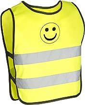 M-Wave Reflex-Warnweste für Kinder, gemäß EN 1150, 100% Polyester, Größe XXS-XS
