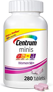 Centrum Minis Women 50+ (280 Count) Multivitamin/multimineral Supplement Tablets, 280 Count + 2 Free Months of obé Fitness