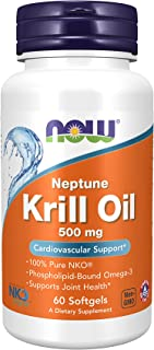 NOW Foods Krill Oil 500mg Softgels 60's