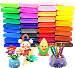 36 Colors Air Dry Clay Ultra Light and Air Dry Clay for Children Non-Toxic and..