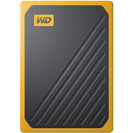 WESTERNDIGITAL WD ポータブルSSD 2TB USB3.0 イエロー My Passport Go 外付け / 3年保証 【PS4 / Xbox Oneメーカー動作確認済】WDBMCG0020BYT-WESN