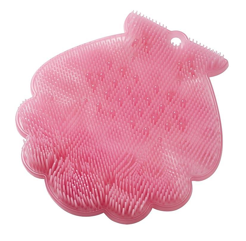 割り当てます適応する特定のtone 抗菌フットブラシシェル コーラルピンク