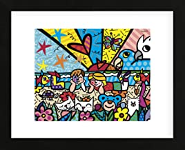 McGaw Graphics in The Park by Romero Britto Framed Print Multicolor