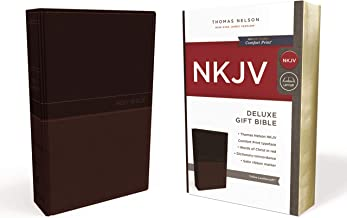 NKJV, Deluxe Gift Bible, Leathersoft, Tan, Red Letter, Comfort Print: Holy Bible, New King James Version