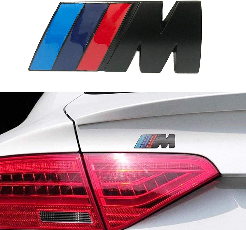 BMW M Front Grille Emblem Badge Sticker 3D Chrome Badge Metal ...