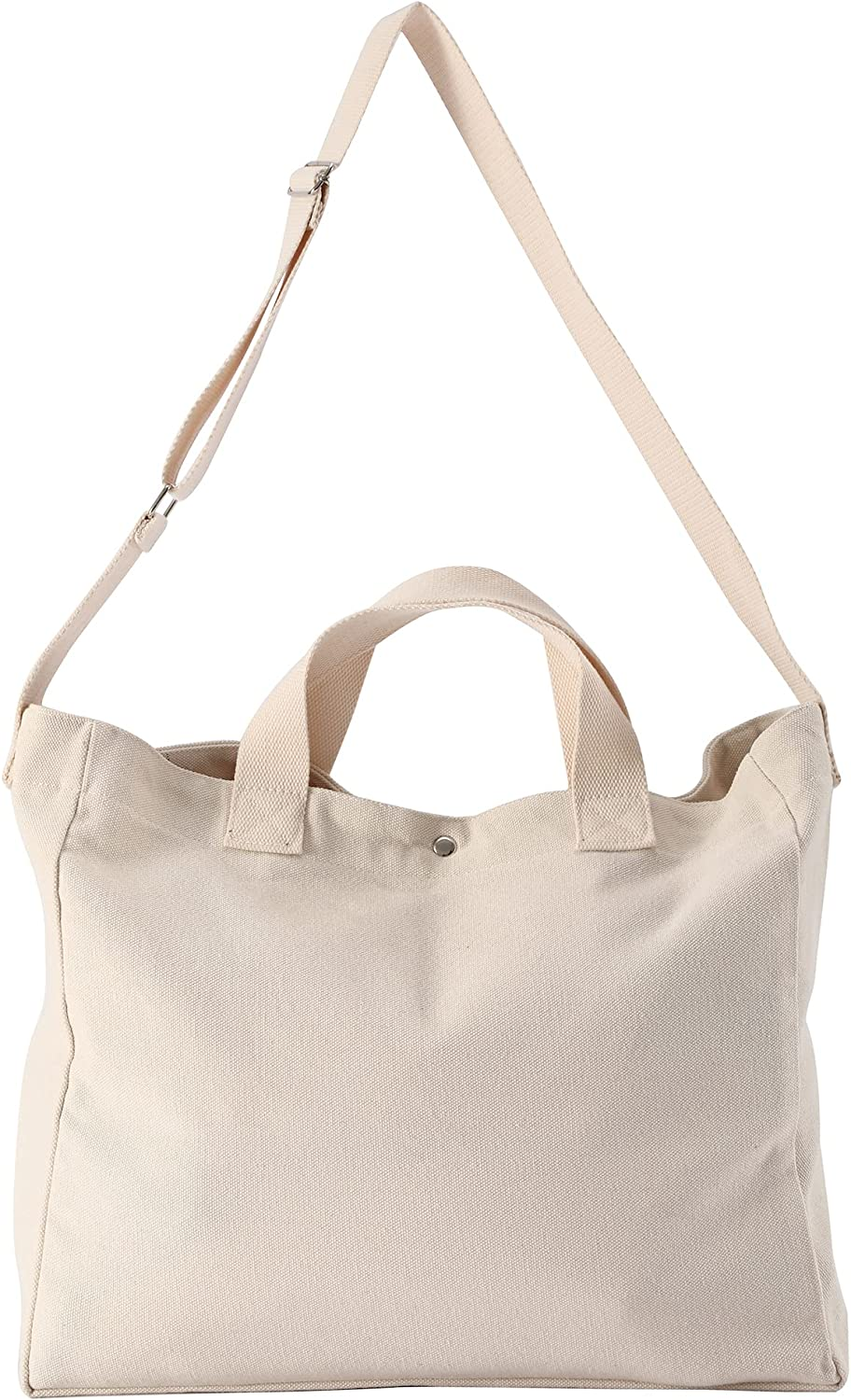 Canvas Tote NEW before selling ☆ Bags Max 40% OFF for Women Shoulder Hobo Cotton Crossbody Large