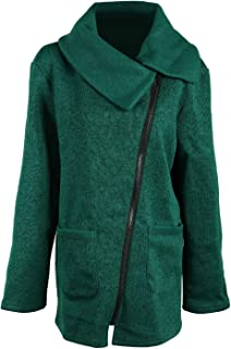 BodiLove Womens Sophisticated Duffle Coat Detachable Hood