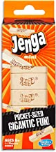 Jenga - Mini Edition - Pocket size fun - Strategy Wooden Stacking Game - Kids Toys - Ages 6+