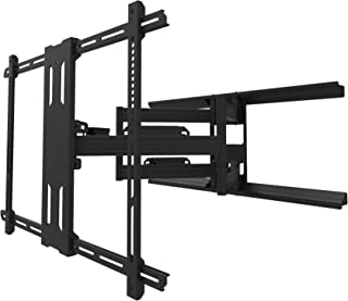 Kanto PDX700 Full Motion TV Wall Mount for 42-inch to 100-inch TVs, Black