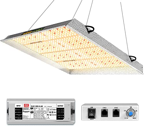 MARS HYDRO TS3000 LED Grow Light for Indoor Plants 4x4 5x5ft Commercial Grow Lighting Daisy Chain and Dimmable Full S...