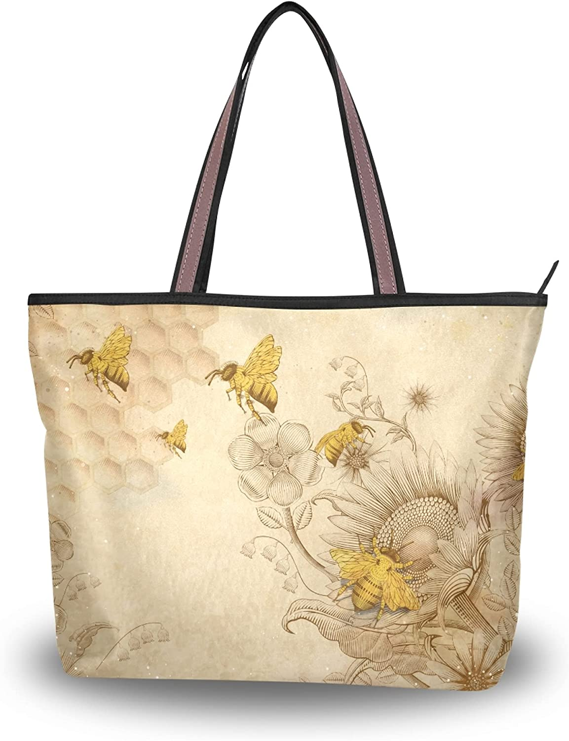 Our shop Max 46% OFF OFFers the best service Linqin Women's Shoulder Handbags Tote closure Purse with Zipper