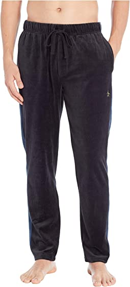 Velour Contrast Side Pants