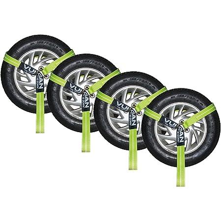"""2/"""" X 120/"""" LG *Premium* Jerrdan Quick Pick Wheel Lift Strap 2 Qty"""