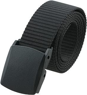 Men's Nylon Webbing Military Style Tactical Duty Belt