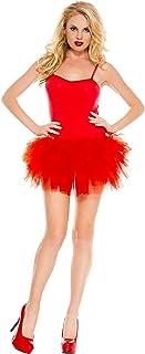 فستان بتنورة قصيرة للنساء من ميوزيك ليجز