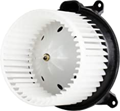 BOXI Heater Blower Motor w/Fan for Cadillac Escalade Chevrolet Avalanche GMC Sierra 03-06, Chevy Silverado Hummer H2 03-07 Blower Motor with Fan Cage 89019320 700101