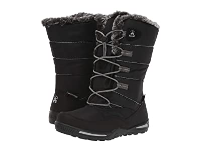 Kamik Kids Cassia (Toddler/Little Kid) (Black) Girls Shoes