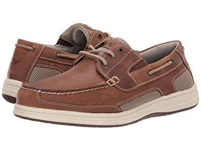 Dockers Beacon (Dark Tan Crazy Horse) Men