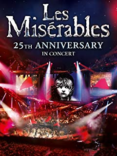 les miserables 25th anniversary video online