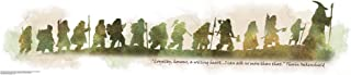 RoomMates The Hobbit Quote Peel and Stick Wall Decals