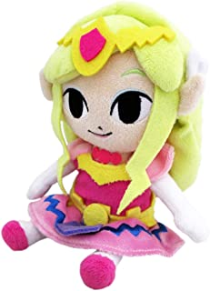 "Little Buddy Legend of Zelda Wind Waker Princess Zelda 8"" Plush"