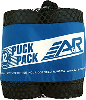 A&R Sports Classic Ice Hockey Puck