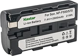Kastar Battery for Sony NP-F550 NP-F530 NP-F570 and Sony CCD-TRV25 CCD-TRV36 CCD-TRV41 CCD-TRV43 CCD-TRV46 CCD-TRV51 CCD-TRV58 CCD-TRV615 CCD-TRV62 CCD-TRV66 CCD-TRV67 CCD-TRV68 Camcorders