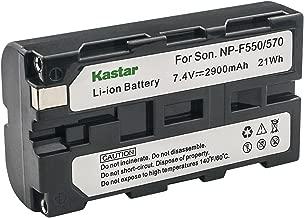 Kastar Lithium-Ion L Battery for Sony Handycam NP-F330 NP-F550 DCR-SC100 DCR-TRV5 DCR-TRV7 DCR-TRV9 DCR-TRV900 DCR-VX1000 DCR-VX2000 DCR-VX2100 Camcorder