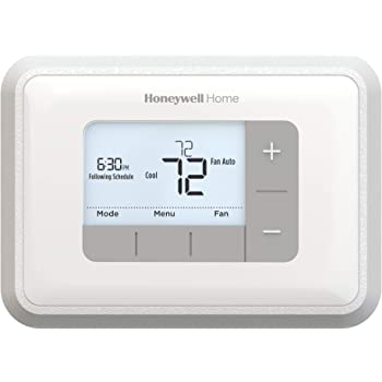 Honeywell Home Home RTH6360D1002 Programmable Thermostat, 5-2 Schedule, 1-Pack, White