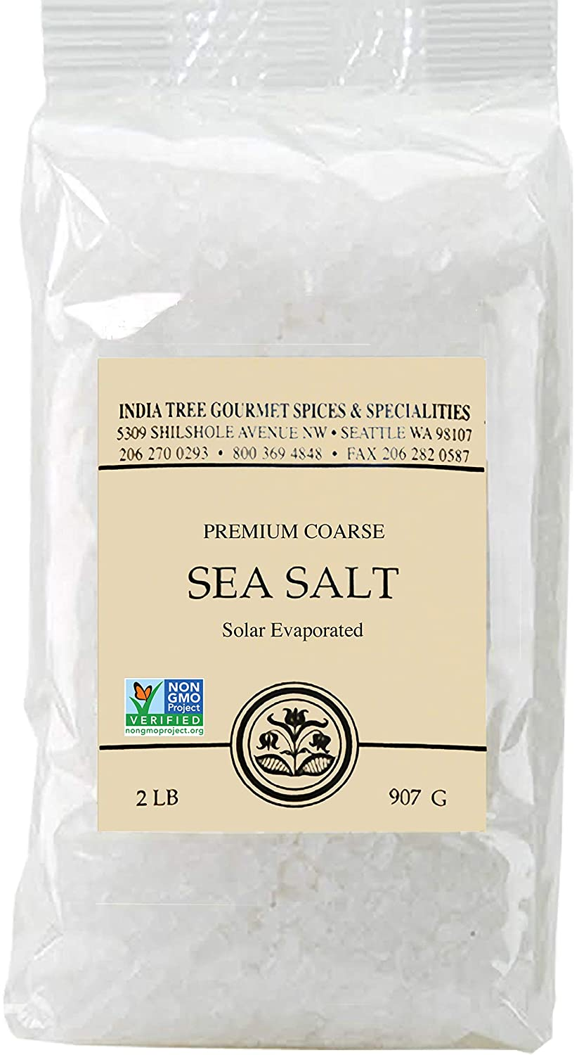 Recommended India Tree Brazilian Coarse Sea Salt 3 Pack of price lb 2