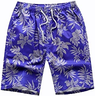 Comaba Men Beach Wear Dry Cool Oversize Sports Capri Pants Shorts