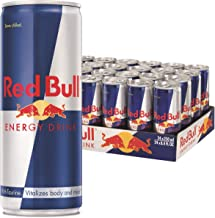 Red Bull Energy Drink Can, 250ml (Pack of 24)