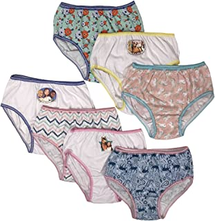 Dreamworks Girls GUP5510 7-Pack Spirit The Horse Underwear Panty Underwear - Multi